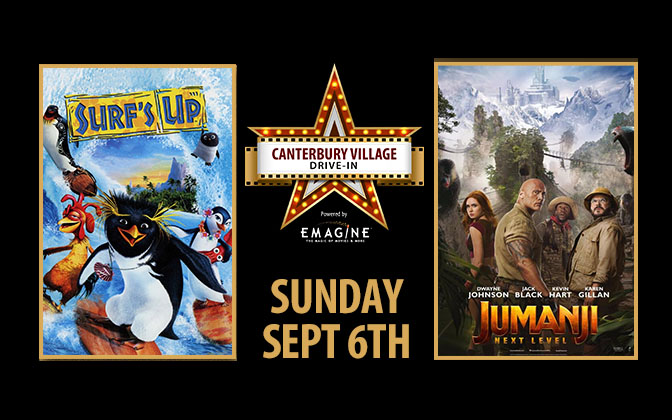 Canterbury Drive In Movies September 6th